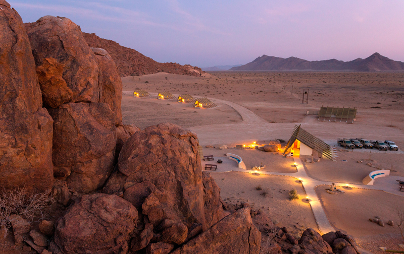 Stay At Desert Quiver Camp Namibia Self Catering