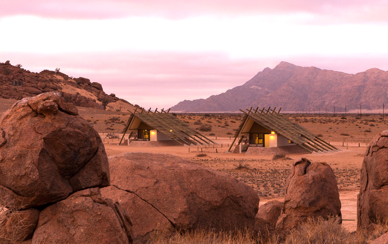 Accommodation Units at Desert Quiver Camp